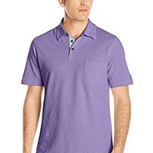 NWT IZOD Newport Oxford Polo Shirt Size XL